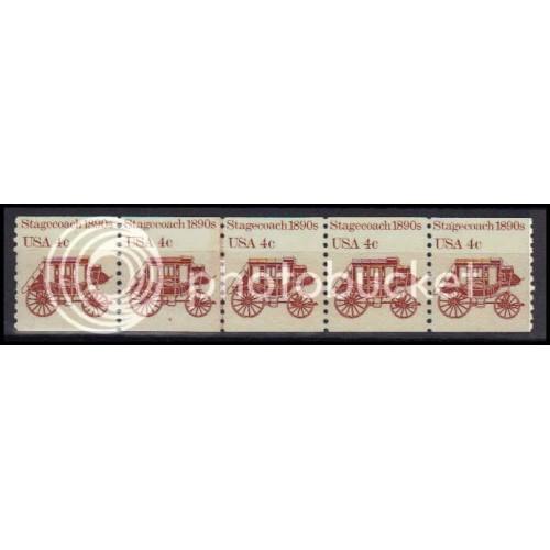 1898A Fine MNH Dry Gum PNC 4/4+1 Z5732
