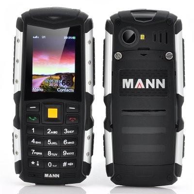 MANN ZUG S Rugged Phone - 2 Inch Display, IP67 Waterproof + Dust Proof Rating,