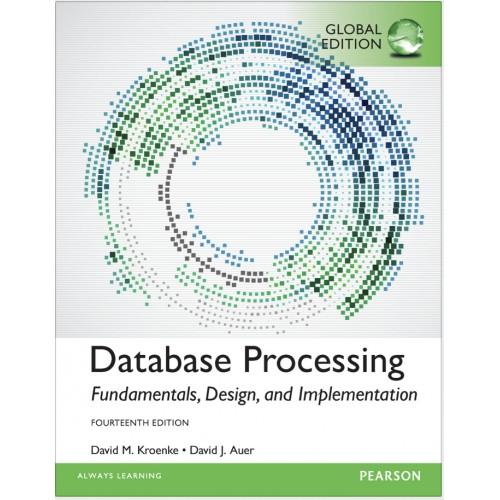 Database Processing: Fundamentals, Design & Implementation 14th Ed eTextbook