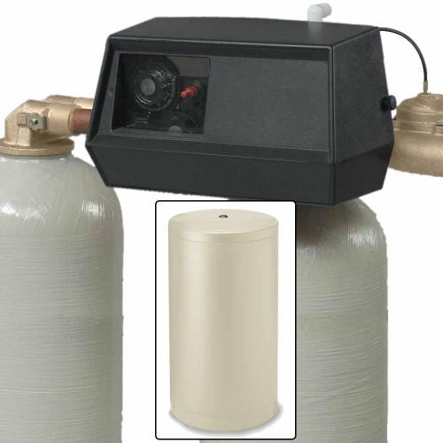 32k Dual Tank Alternating Water Softener with Fleck 9000