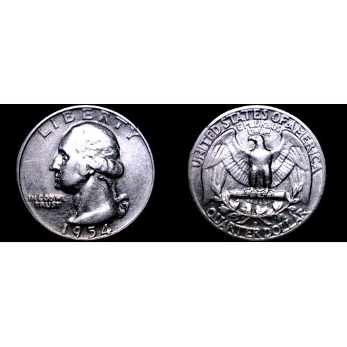1954-D Washington Quarter Silver