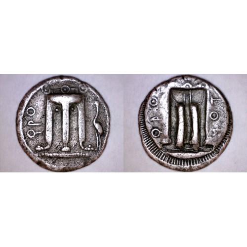 480-460BC Bruttium Croton AR Stater Nomos Silver Coin - Ancient Greece - Italy