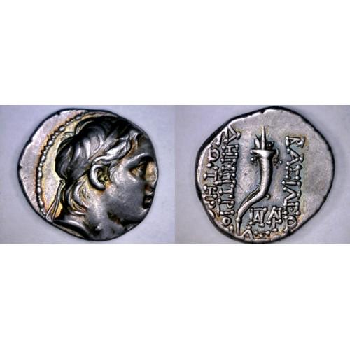 162-150BC Seleukid Kingdom Demetrios I Soter Antioch Drachm Coin Ancient Greece