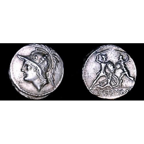 103BC Roman Republic Minucia-19 AR Denarius Coin - Ancient Rome
