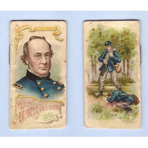 Tobacco Card ~ Company: Duke Cigarettes Series: N78 Halleck, H. W.~14