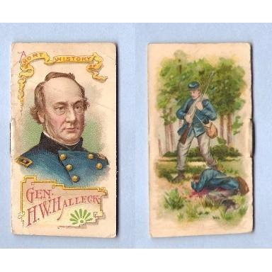 Tobacco Card ~ Company: Duke Cigarettes Series: N78 Halleck, H. W.~22