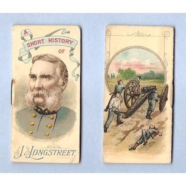 Tobacco Card ~ Company: Duke Cigarettes Series: N78 Longstreet, J~29