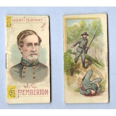 Tobacco Card ~ Company: Duke Cigarettes Series: N78 Pemberton, J. C.~67