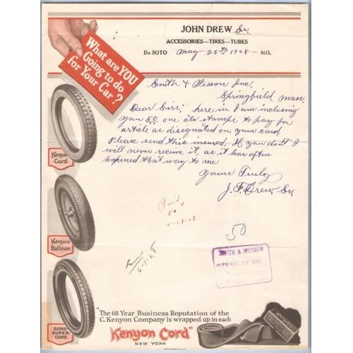 MO De Soto John Drew Sr. Kenyon Cord Name, address Vignette Top, What are ~98