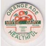 IN Richmond Milk Bottle Cap Name/Subject: Wayne Dairy~299
