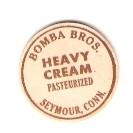 CT Seymour Milk Bottle Cap Name/Subject: Bomba Bros. Heavy Cream ~532