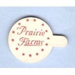 IL Olney Milk Bottle Cap Name/Subject: Prairie Farms 1/2 ounce size 15/16 ~561