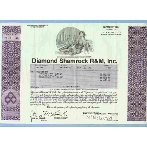 DE na Stock Certificate Company: Diamond Shamrock R&M, Inc. ~28