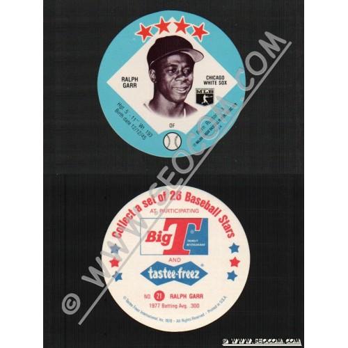 Sport Baseball Discs Name: Garr, Ralph OF Chicago White Sox~416