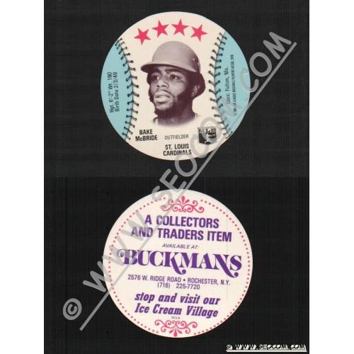Sport Baseball Discs Name: Mcbride, Bake Outfielder St Louis Cardinals~427