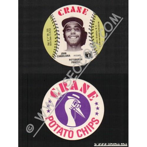Sport Baseball Discs Name: Candelaria, John Pitcher Pitsburgh Pirates~439