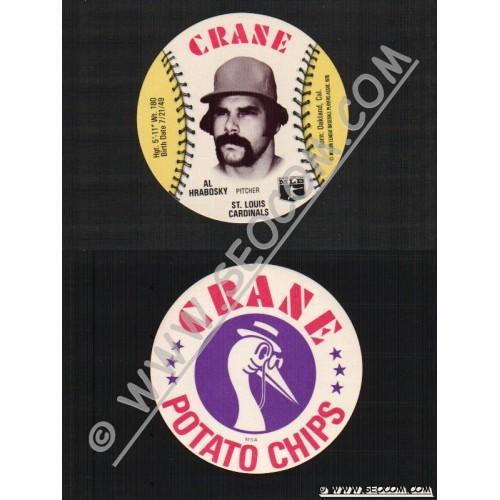 Sport Baseball Discs Name: Hrabosky, Al Pitcher St Louis Cardinals~452