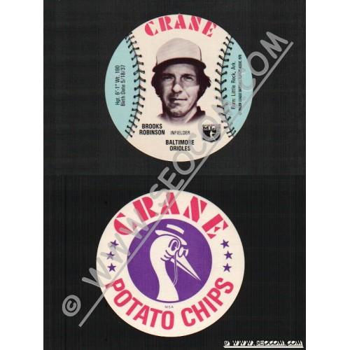 Sport Baseball Discs Name: Robison, Brooks Infielder Baltimore Orioles~480