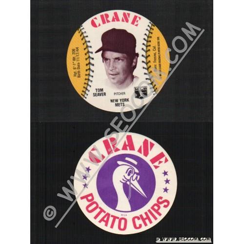 Sport Baseball Discs Name: Seaver, Tom Pitcher New York Mets~487