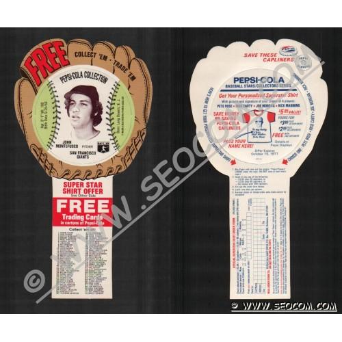 Sport Baseball Discs Name: Montefusco, John Pitcher San Francisco Giants~662