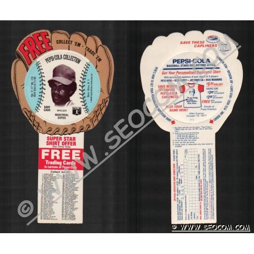 Sport Baseball Discs Name: Cash, Dave Infielder Montreal Expos~671