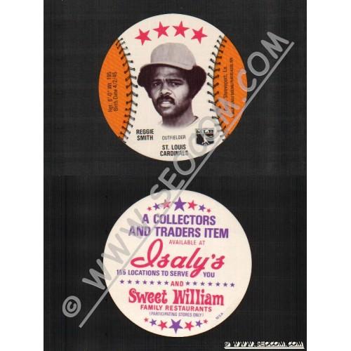 Sport Baseball Discs Name: Smith, Reggie Outfielder St Louis Cardinals~733