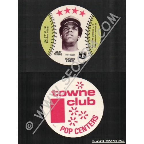 Sport Baseball Discs Name: Cedeno, Cesar Outfielder Houston Astros~758