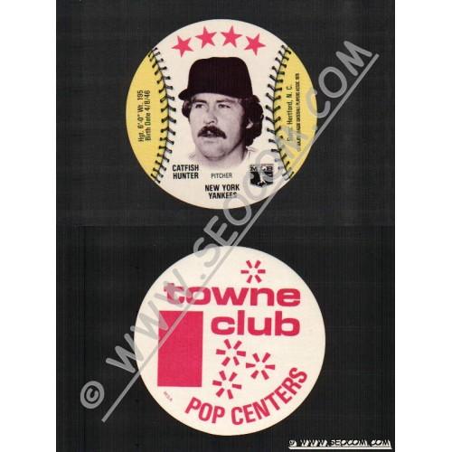 Sport Baseball Discs Name: Hunter, Catfish Pitcher New York Yankees~767