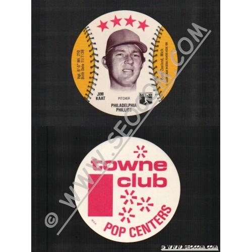 Sport Baseball Discs Name: Kaat, Jim Pitcher Philadelphia Phillies~770