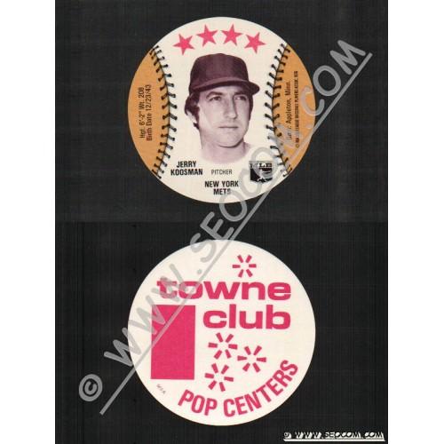Sport Baseball Discs Name: Koosman, Jerry Pitcher New York Mets~773