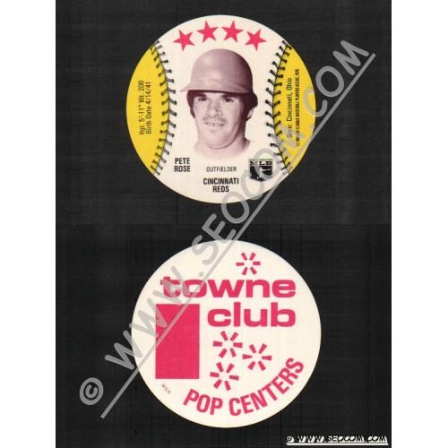 Sport Baseball Discs Name: Rose, Pete Outfielder Cincinnati Reds~794