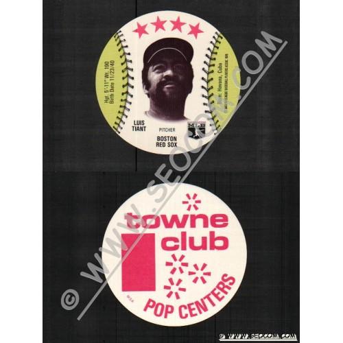 Sport Baseball Discs Name: Tiant, Luis Pitcher Boston Red Sox~806