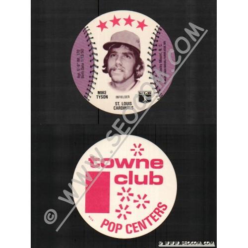 Sport Baseball Discs Name: Tyson, Mike Infielder St Louis Cardinals~808