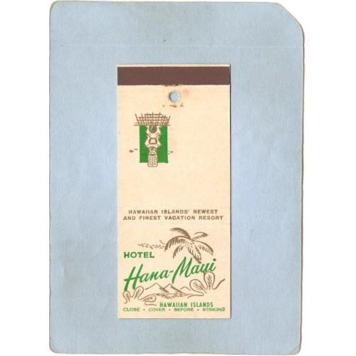 HI Hana Matchcover Tiki Hotel Hana-Maui~94