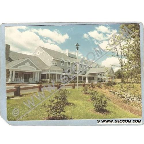 CT Mashantucket Postcard Two Trees Inn ct_box3~1131
