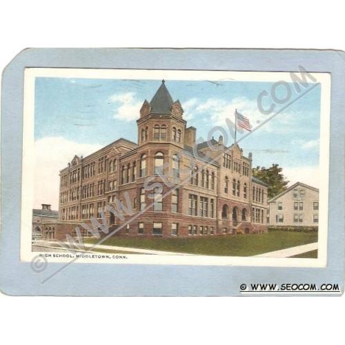 CT Middletown Postcard High School ct_box3~1411