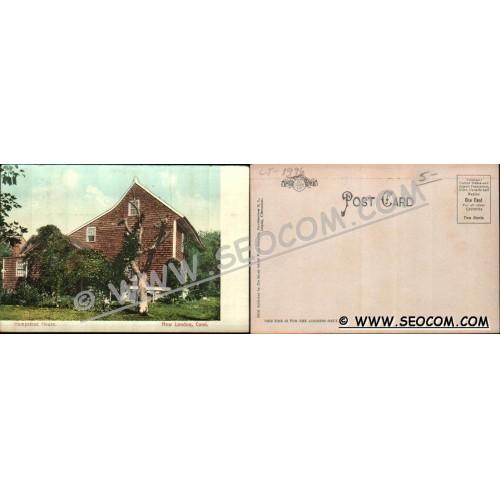 CT New London Postcard Hempstead House ct_box4~1996