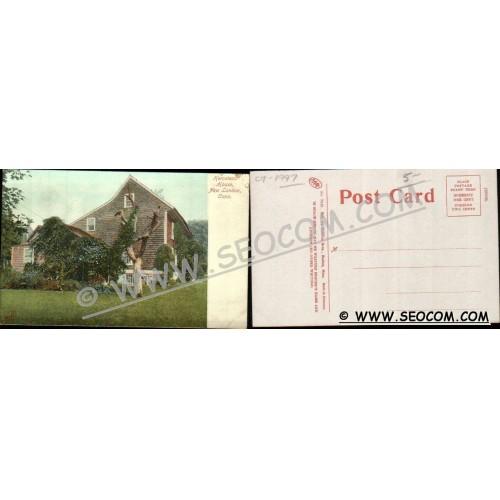 CT New London Postcard Hempstead House ct_box4~1997