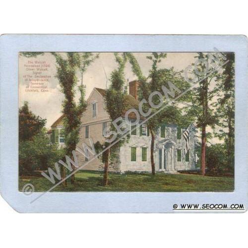 CT Litchfield The Wolcott Homestead 1754 ct_box2~1043
