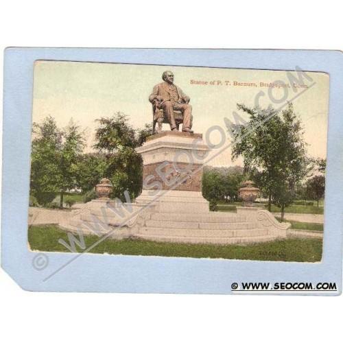 CT Bridgeport Statue Of P T Barnum ct_box1~200
