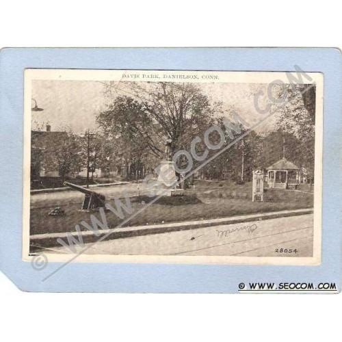 CT Danielson Davis Park Street Scene w/Trolley Track ct_box1~580