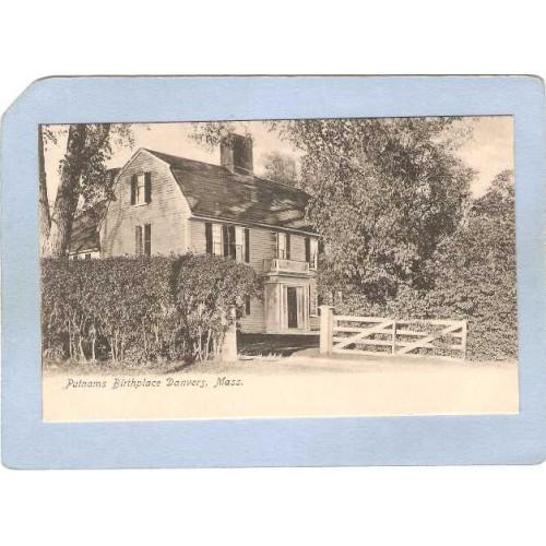 MA Danvers Birthplace Of General Israel Putnam ma_box2~1000