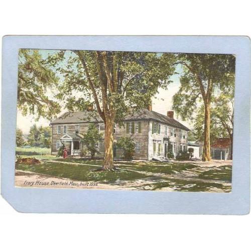 MA Deerfield Frary House Built 1698 ma_box2~1027
