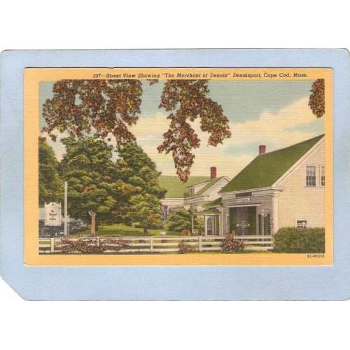 MA Dennisport Street View Showing The Merchant Of Dennis Dennisport Cape C~1043