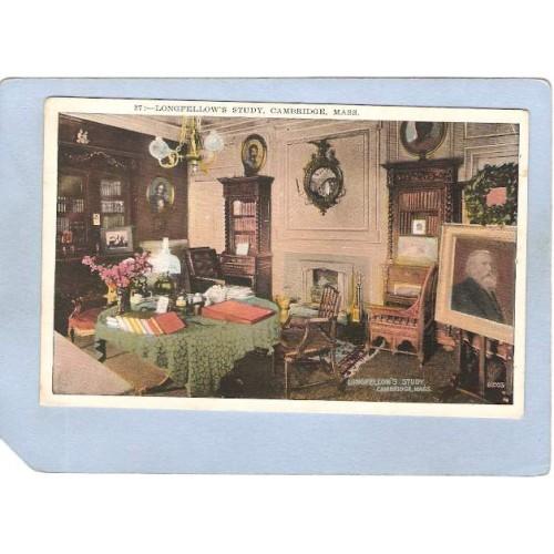 MA Cambridge Study Home Of Longfellow ma_box1~383