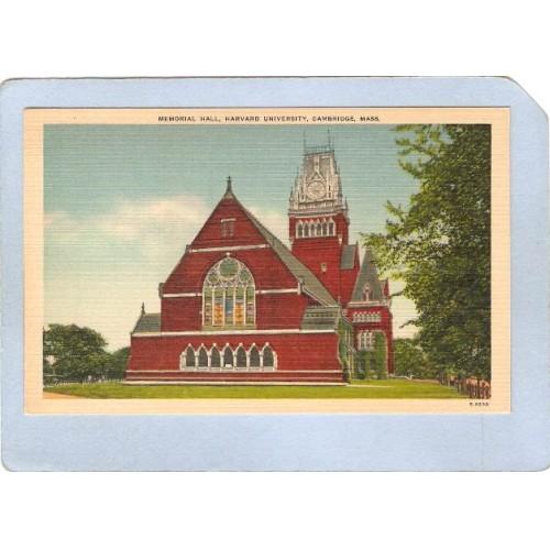 MA Cambridge Memorial Hall Harvard University ma_box1~454
