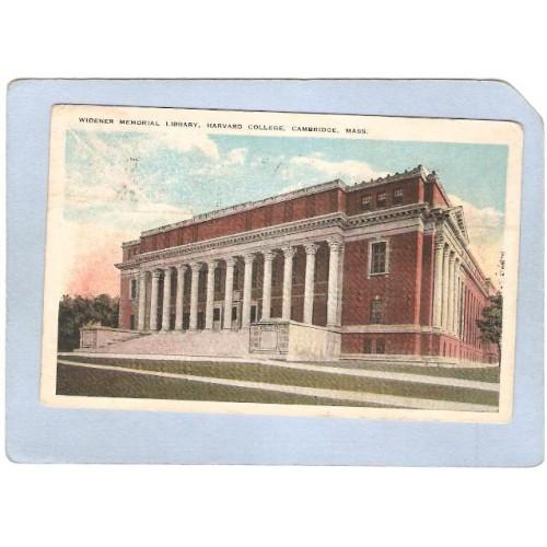 MA Cambridge Widener Library Harvard University ma_box1~482