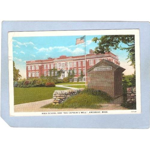 MA Amesbury High School & The Captains Well ma_box1~57