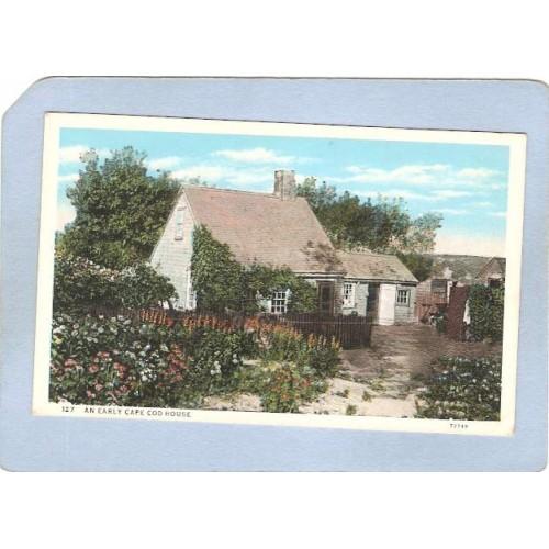 MA Cape Cod An Early Cape Cod House ma_box2~679