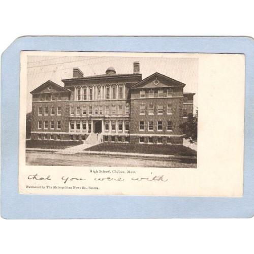 MA Chelsea High School Undivided Back ma_box2~753